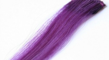 Purple Hair Extensions That Clip In
