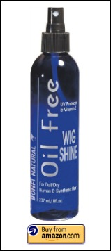 oil free shine spray for hair extensions