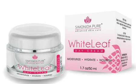 simonida pure whiteleaf day cream moisturizer