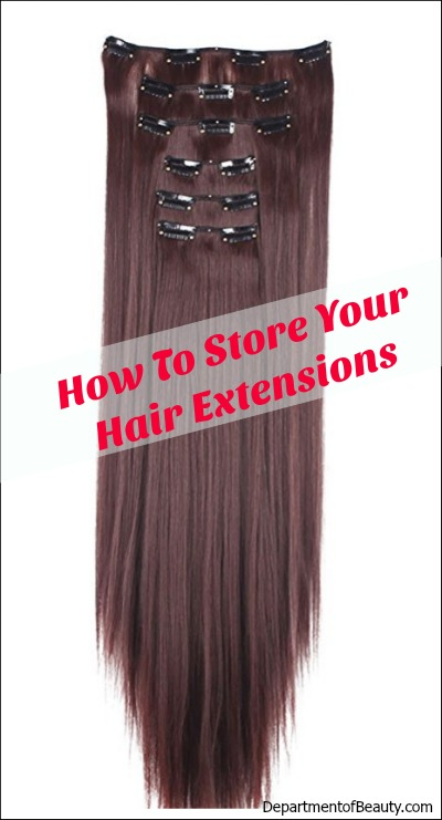 How to store hair extensions hangers boxes and more before you start storing your hair extensions on a hanger or in a bag there are some things that you should know to get the most out of your hair pmusecretfo Choice Image